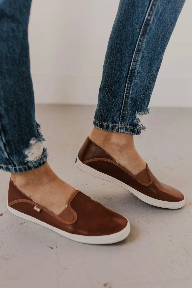 ebd90cadf2f51 The Crashback leather slip ons are your answer to every single  impossible-to-pair pattern
