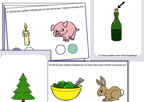 Fusion syllabique mots bi syllabiques - En partage au format du logiciel sur le groupe Face Book : Partage de matériel Artiskit : Orthophonie http://www.facebook.com/groups/128326657315777/ Site ArtisKit : http://www.artiskit.com