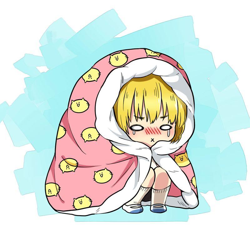 Attack On Titan - Cold Chibi Armin