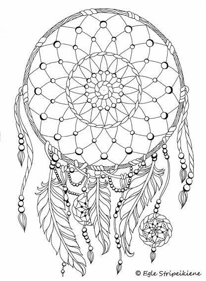 Pin de Gloria Ann en glo | Pinterest | Mandalas, Atrapasueños y Colorear
