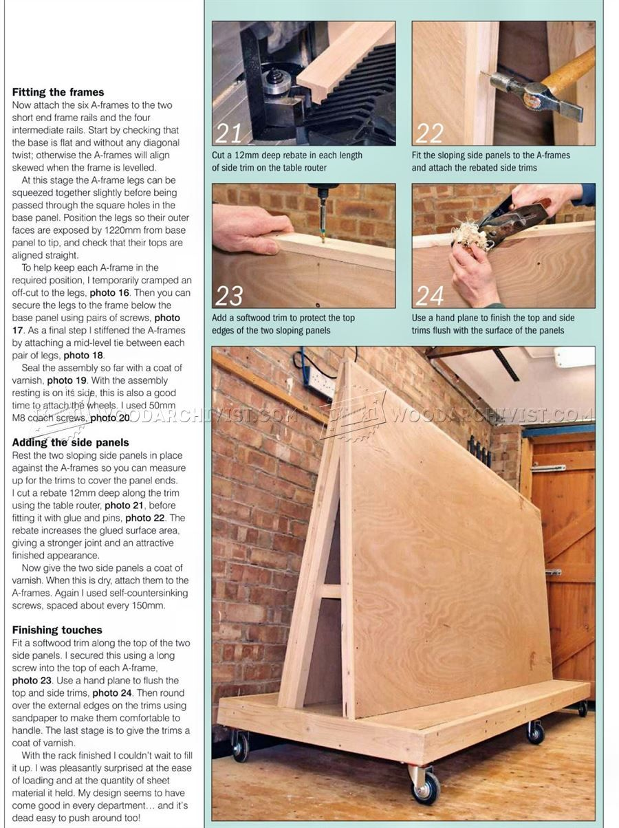 Attrayant Plywood Storage Rack Plans   Workshop Solutions