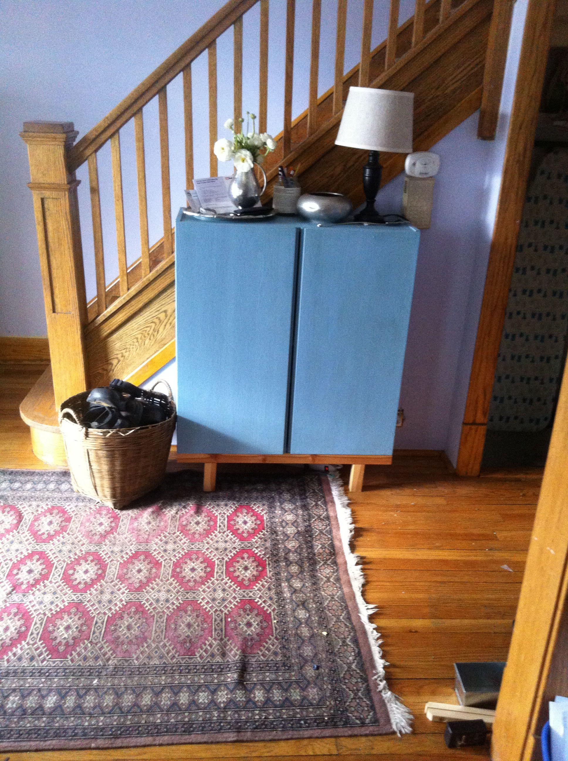 ikea hack made it ikea ivar cabinet one side added. Black Bedroom Furniture Sets. Home Design Ideas