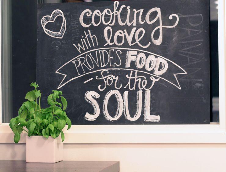 Kitchen chalkboard Our own house  life Pinterest Chalkboards