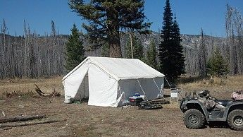 Elk Mountain Tents 13x16 Wall Tent Reviews - Trailspace.com Elk Mountain Tents - Canvas & Elk Mountain Tents 13x16 Wall Tent Reviews - Trailspace.com Elk ...