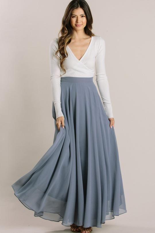Amelia Full Maxi Skirt