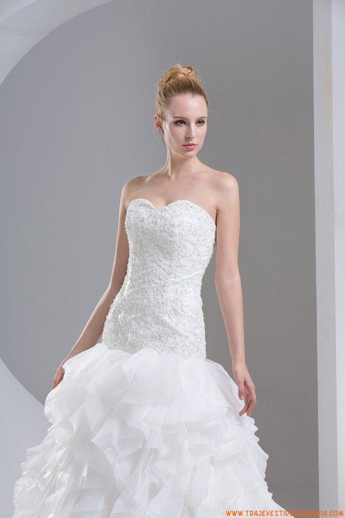 multi capas vestidos de novia blancos 2014 | vestidos de novia en