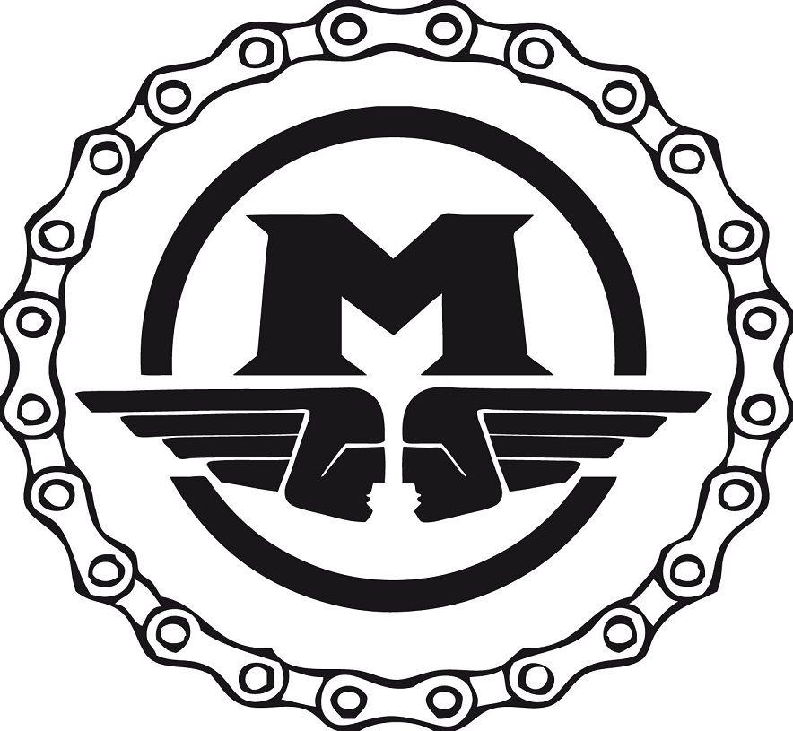 logo Motobécane garage station service mobylette solex