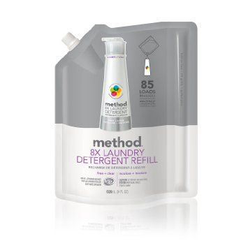 Method 8x Concentrated Laundry Detergent Free Clear 85 Loads