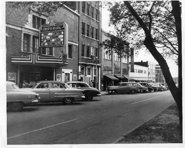 Vintage Phot Of Downtown Griffin Ga With Images Historical