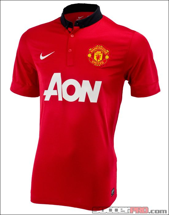 4a012e38b3a Nike Manchester United Home Jersey 2013-2014... 80.99
