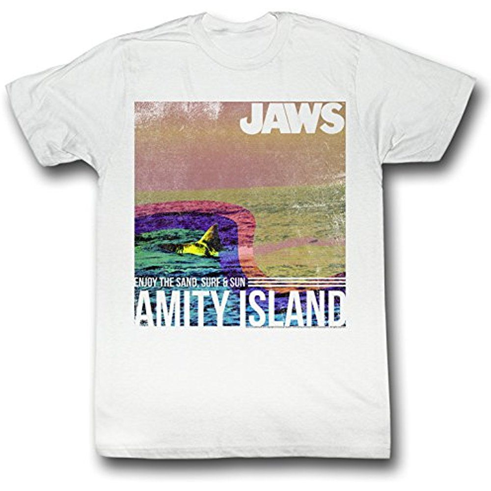 Jaws Amity Island Unisex Toddler T Shirt for Boys and Girls