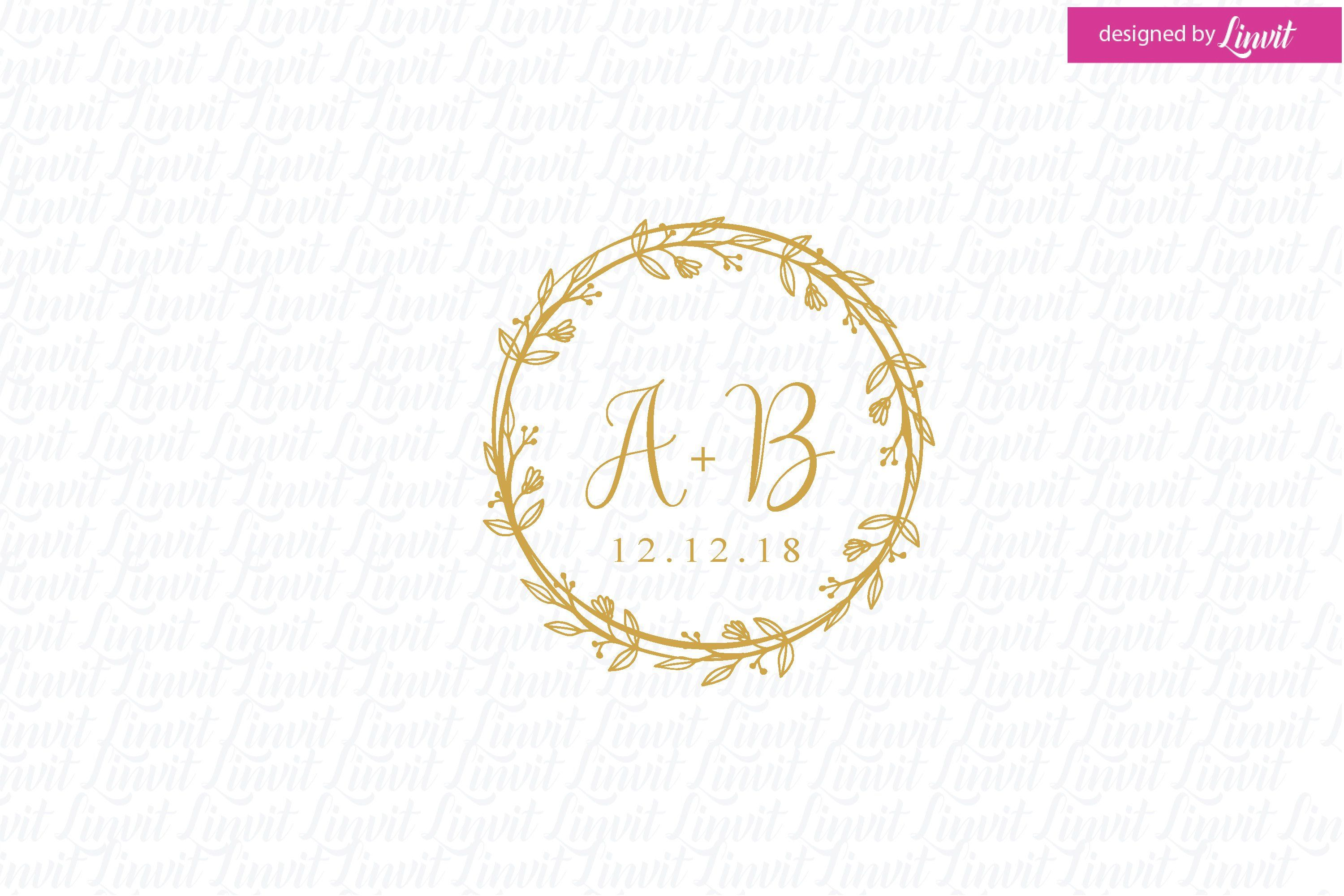 Wedding Logo Wedding Monogram Wedding Crest Custom Wedding Logo Logo Matrimonio Monograma Casame Monogram Wedding Wedding Logos Wedding Logo Monogram