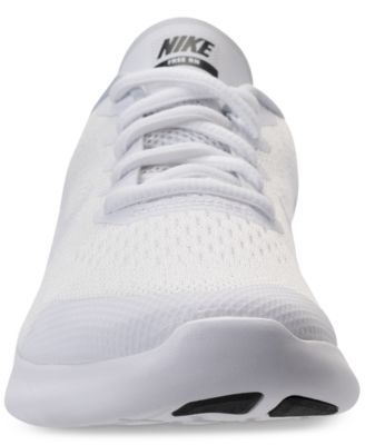 2514854f403c Nike Little Boys  Free Run 2 Running Sneakers from Finish Line - White 2.5