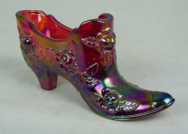 Fenton Glass Shoe Glass Shoes Fenton Fenton Glassware