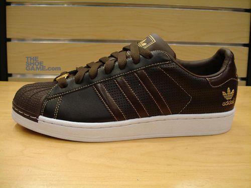 Adidas Superstar II – Brown | Adidas superstar ii, Adidas