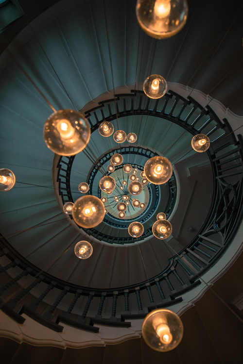 spiral staircase lighting. 15+ Stairway Lighting Ideas, Spectacular With Modern Interiors Tags: Led Staircase Accent Lighting, Banister Spiral I