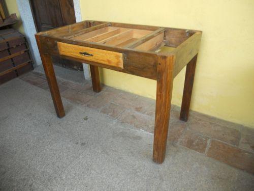 Piedi tavolo ~ Base per tavolo da cucina anni in rovere e pioppo in origine