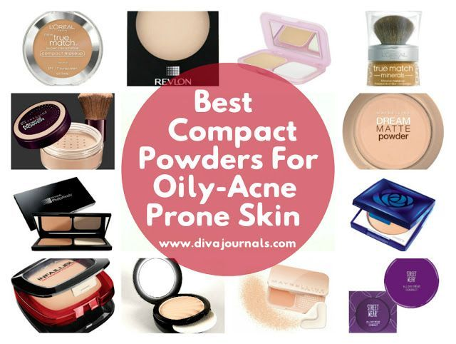 Best Compact Powders For Oily/Acne Prone Skin #SkinCareForSensitiveSkin