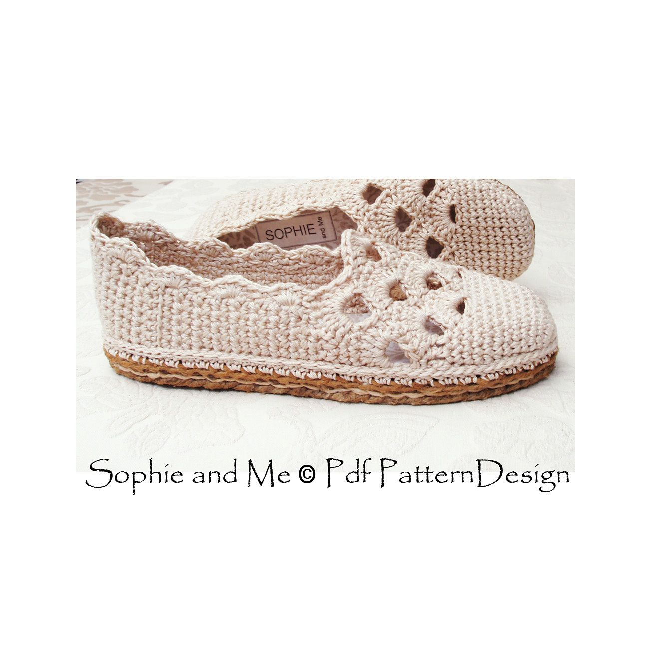 3ff1a28d62a6ec Ravelry  Tailored CORD-SOLES - NEW Method by Sophie and Me-Ingunn Santini