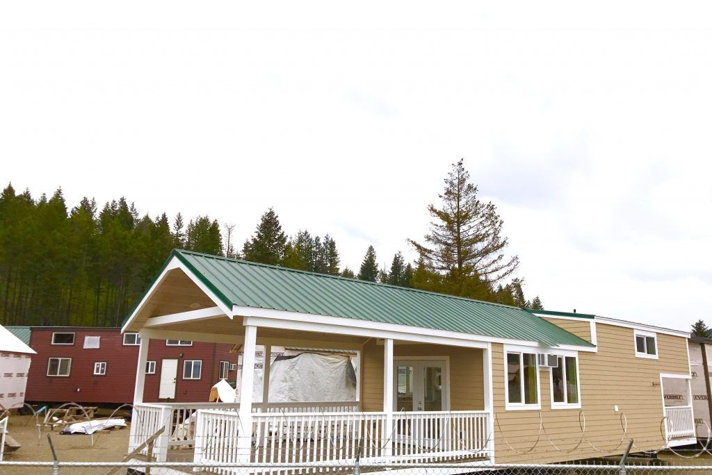 Home tiny portable cedar cabins park models cedar