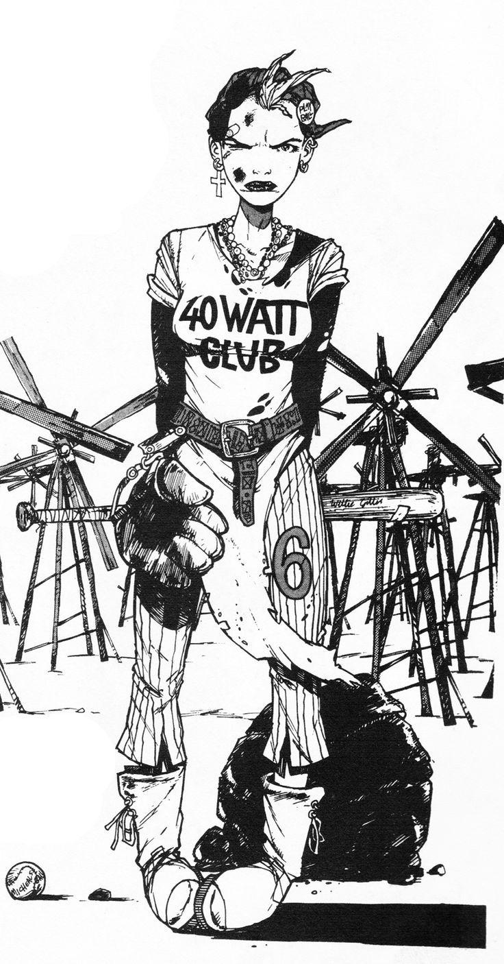 Pin by Matt Boyd on Apocalyptic funland Tank girl comic