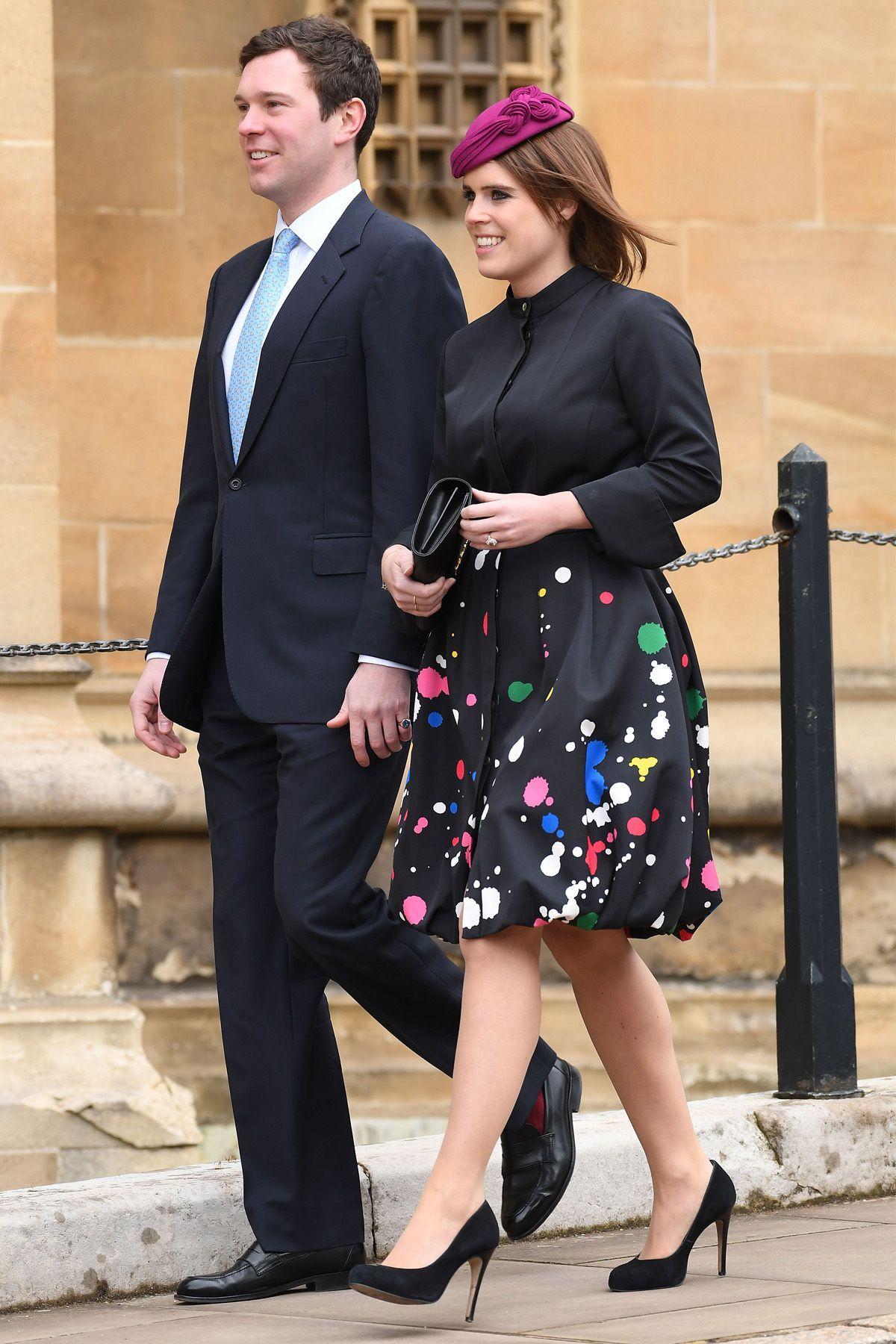f5c226b7 Easter Spectaclegoodhousemag Princesa Anne, Princesa Beatrice, Princesa  Eugenie, Prince Andrew, Prince Philip
