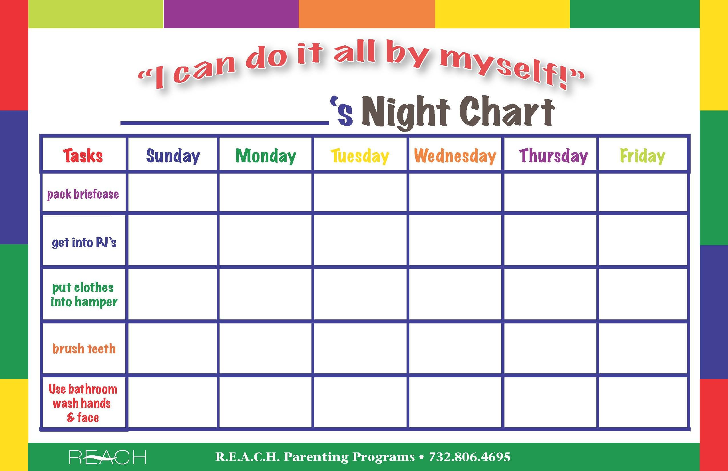 "Search Results for ""Blank Behavior Chart Template ... - photo#21"