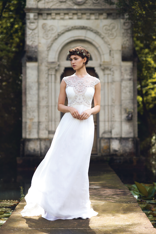 Scandinavian Inspired Wedding Decor And Gorgeous Designer Dresses From Irish Boutiques At Venue In