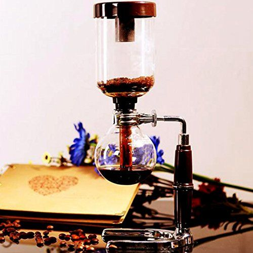 Coffee Maker Coffee Brewer Machine Syphon 5-Cup Coffee Syphon Tabletop Siphon