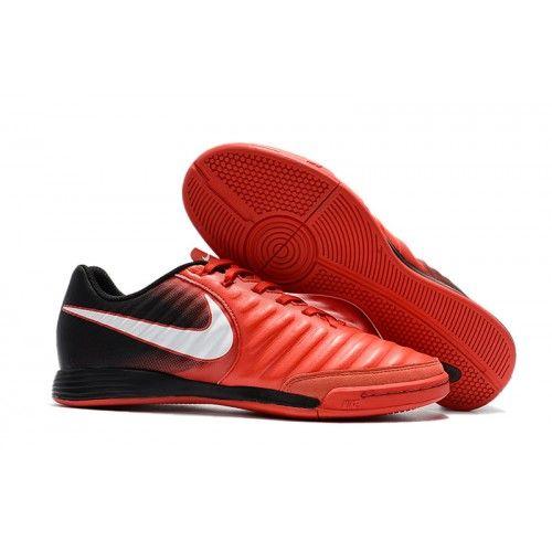 e06b55ae0a4f7 Venta De Botas de Futbol Nike Tiempo Ligera IV TF Hombre Rojas Blancas  Negras