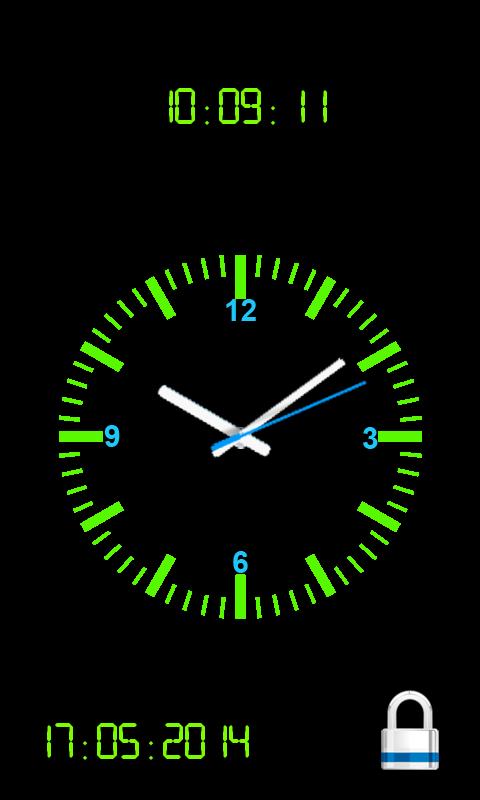 Analog Clock Screen Lock Clock Wallpaper Lock Screen Wallpaper Android Lock Screen Wallpaper Hd