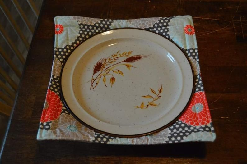 Made to Order Microwaveable Plate Cozy