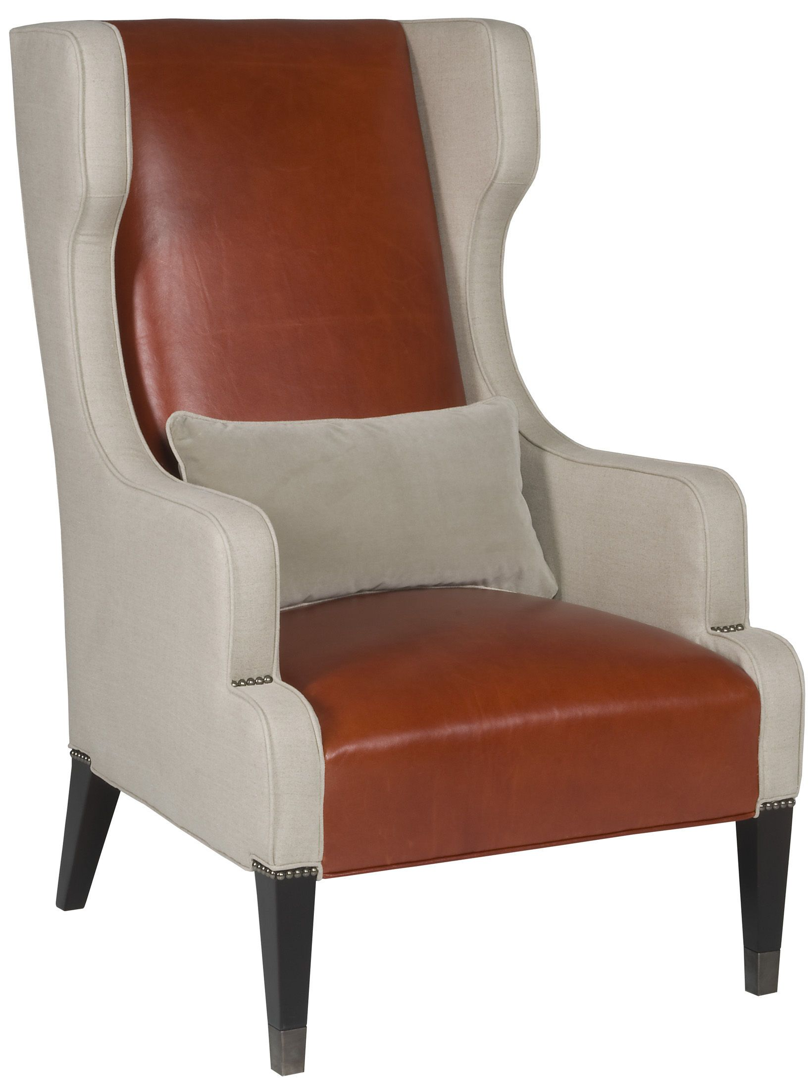 Overstuffed Wingback Chair Vanguard Living Room Wing Chair 9007 Ch Vanguard