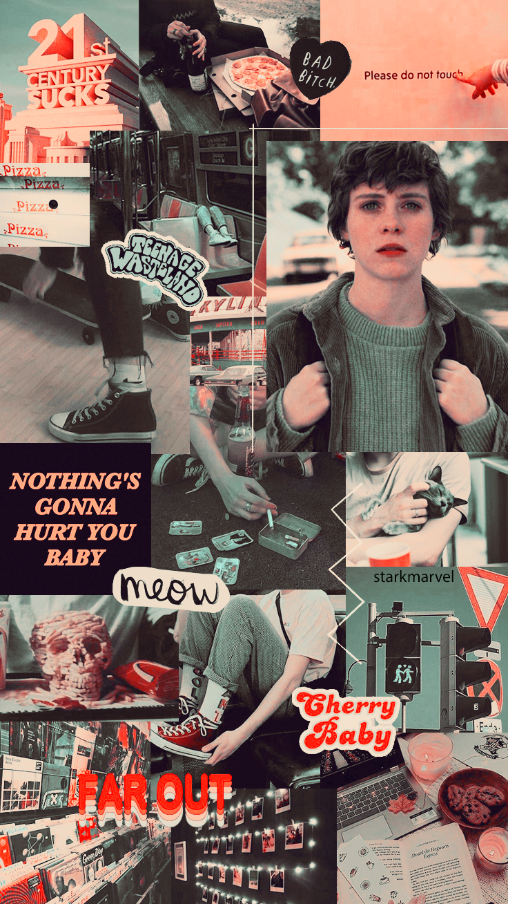 """Wallpapers with Sydney from """"I am not okay with this"""" ~"""