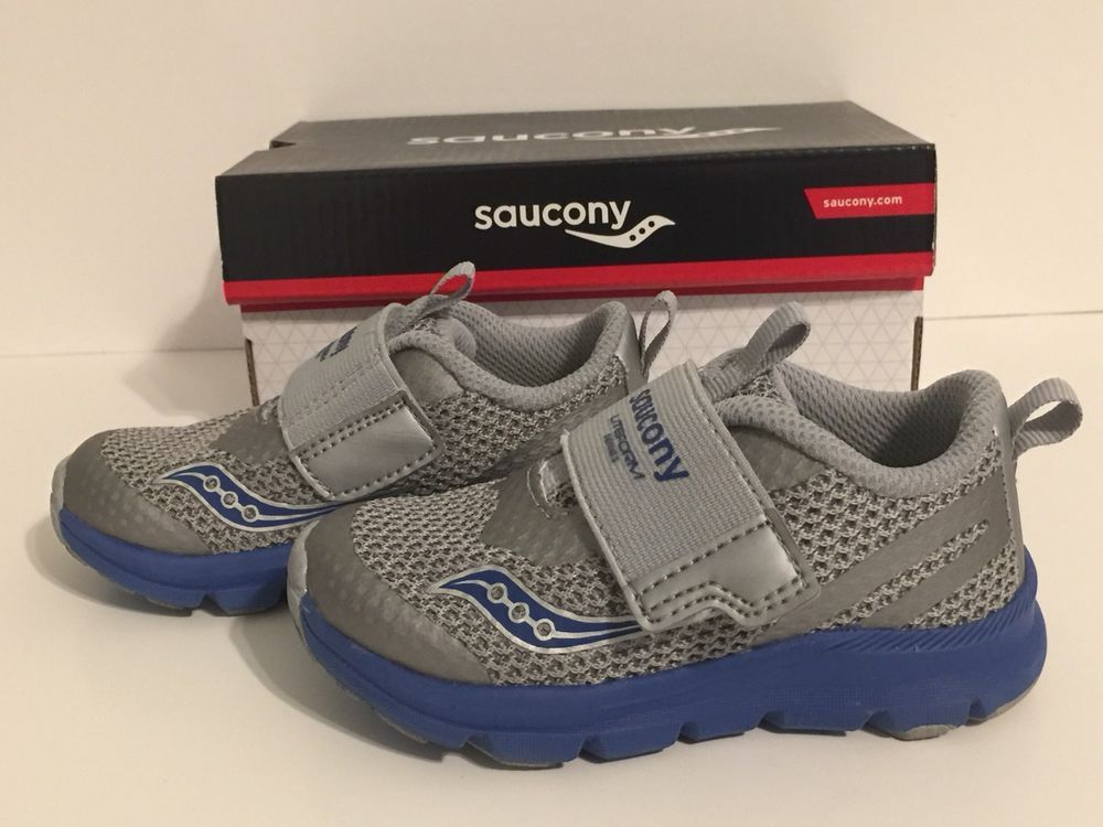 Saucony TODDLER Boys Sneaker • EXTRA WIDE Shoes • Size 6.5 ...
