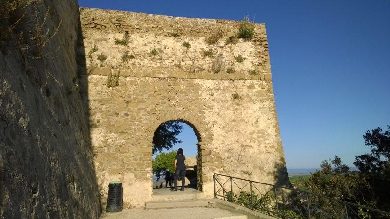 één van de middeleeuwse stadspoorten