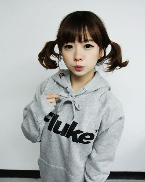 Fuckyeahuhljjang Asian Bangs Short Hair Ponytail Short Hair Styles