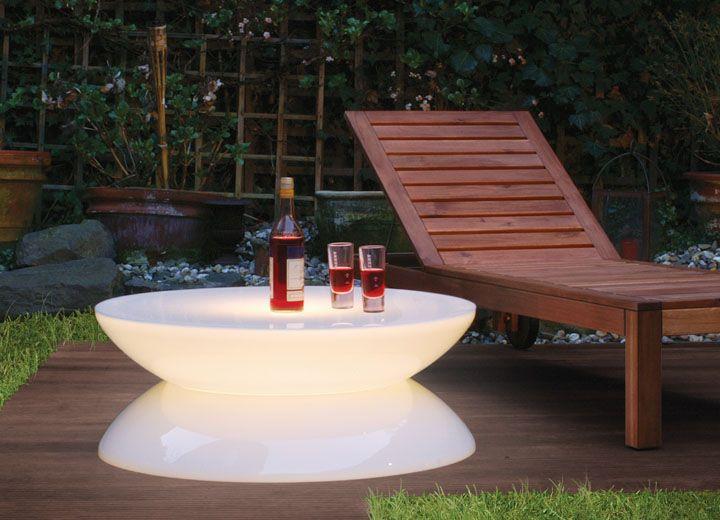 Table Lumineuse Lounge Pour Usage Exterieur Table Basse Lumineuse Table Exterieur Mobilier De Salon