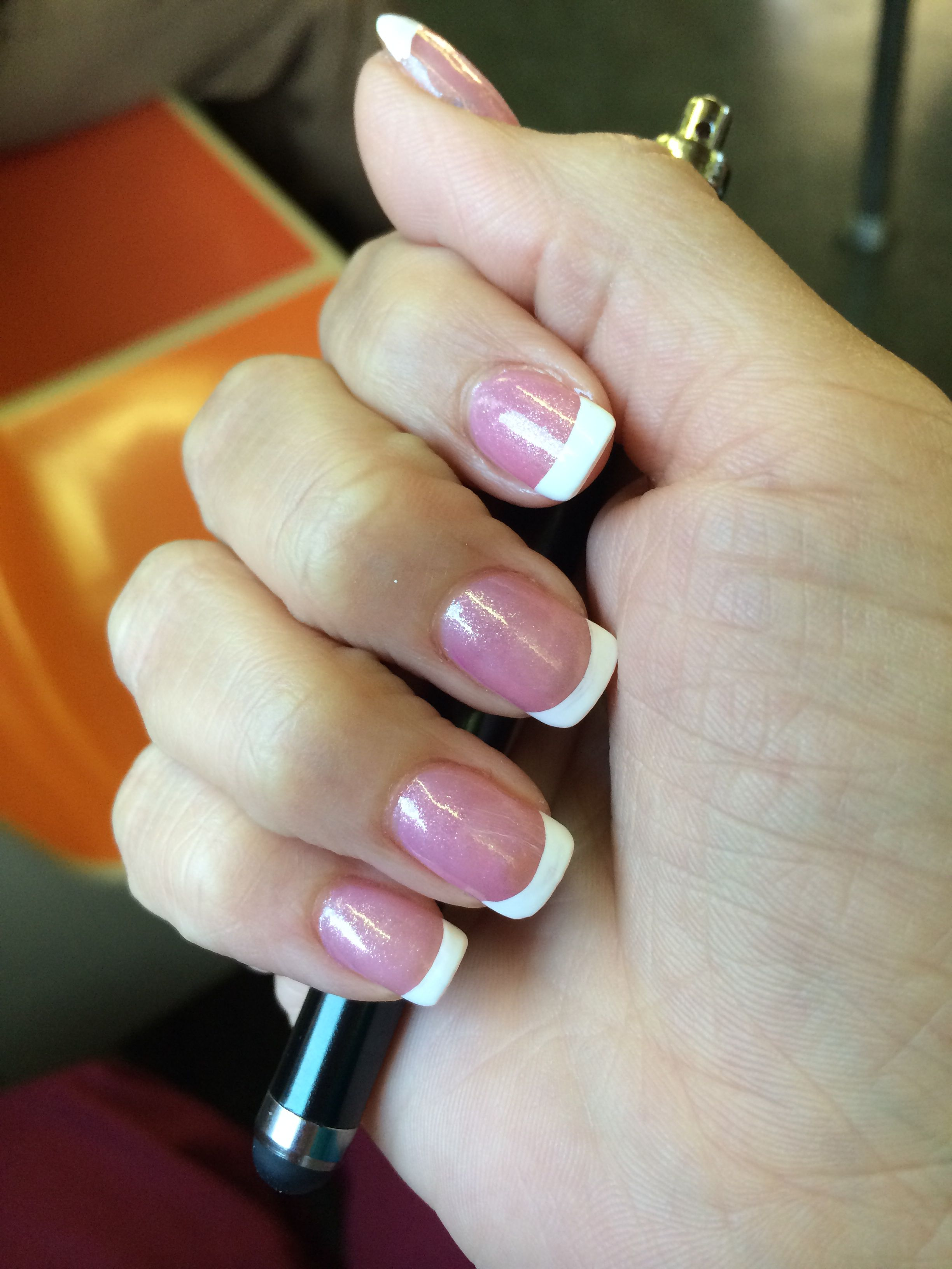 My Nails Done Today Ps Those Are Not Enhancements They R Natural With Silk