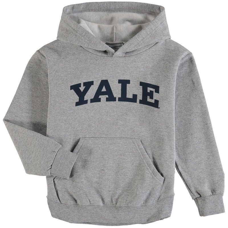 Yale Bulldogs Champion Youth Basic Arch Pullover Hoodie