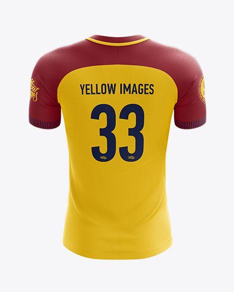 Download Download Mens Soccer Team Jersey Mockup Back View Objectmockups Https T Co Xjfmbzskz6 Https T Co Yfrl2lex Clothing Mockup Shirt Mockup Design Mockup Free