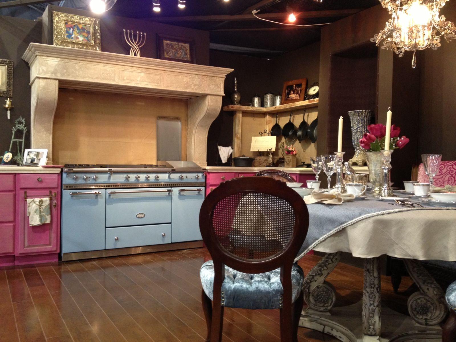 Delft blue Citeaux Lacanche range featured at the Philadelphia Home ...