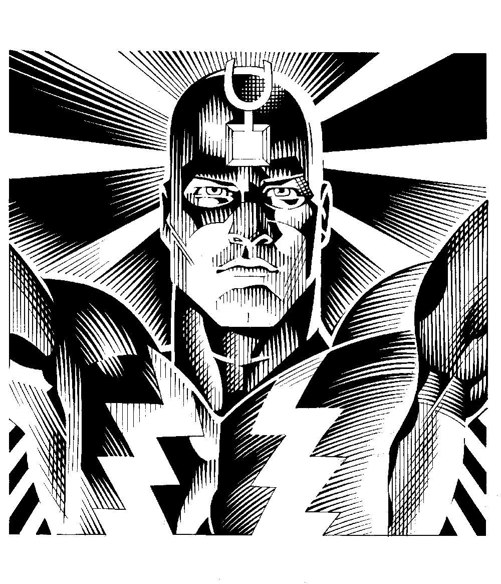 Black Bolt by Craig Hamilton   Comic art 31=King Black Bolt and ...