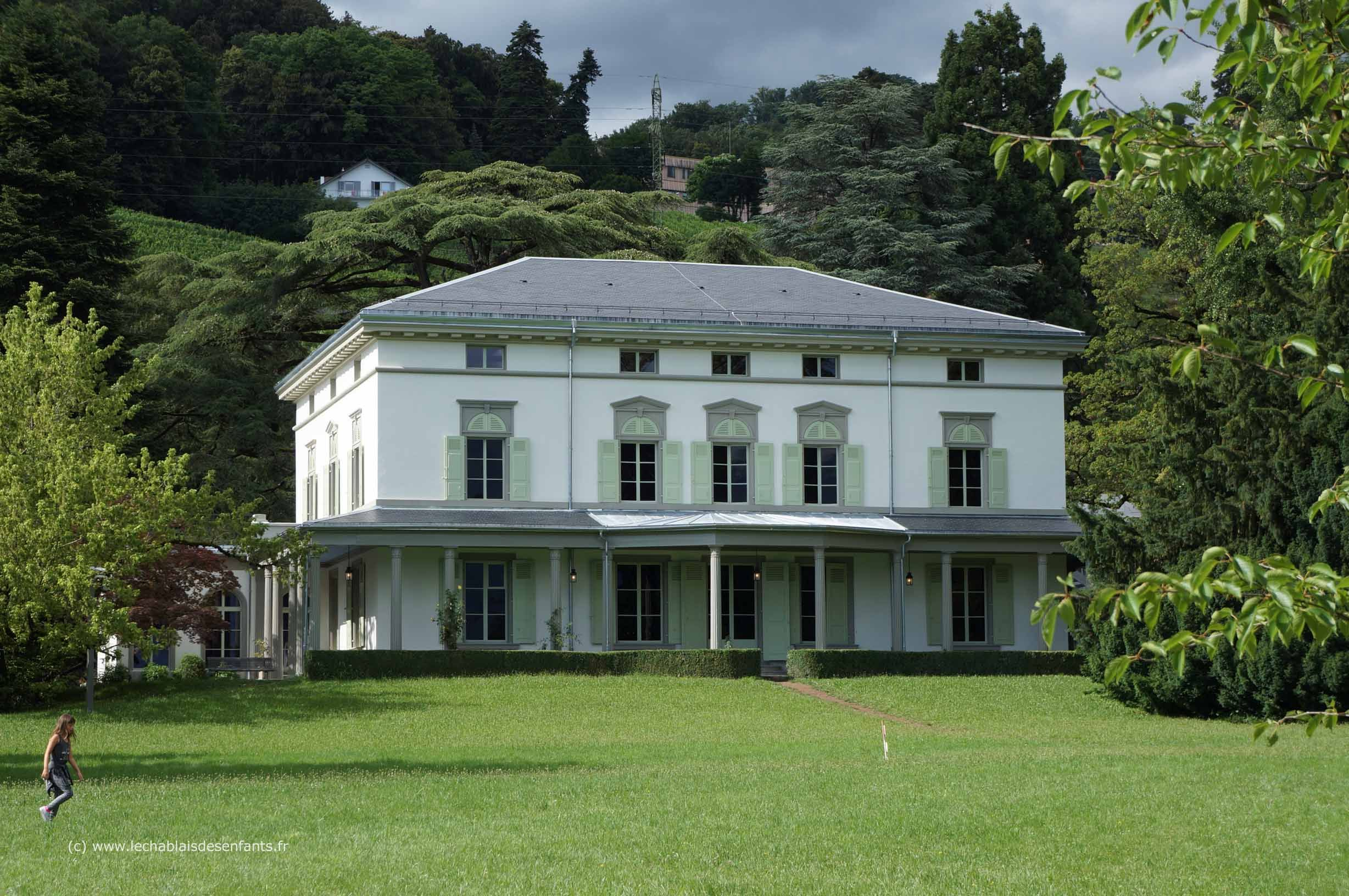 Corsier-sur-Vevey, Switzerland. Charlie Chaplin\'s home for 25 years ...
