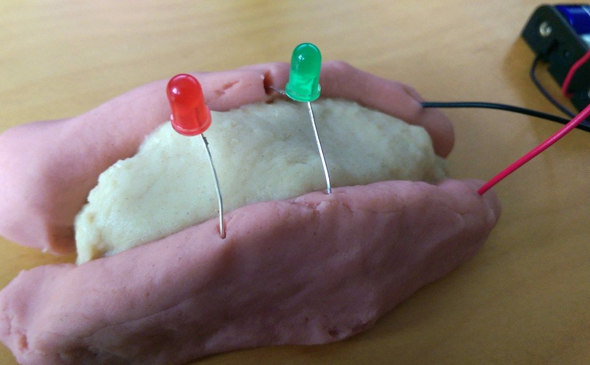 Squishy Circuits Fun With Electrical Dough Physical Science Handson Circuit Electricity For Kids