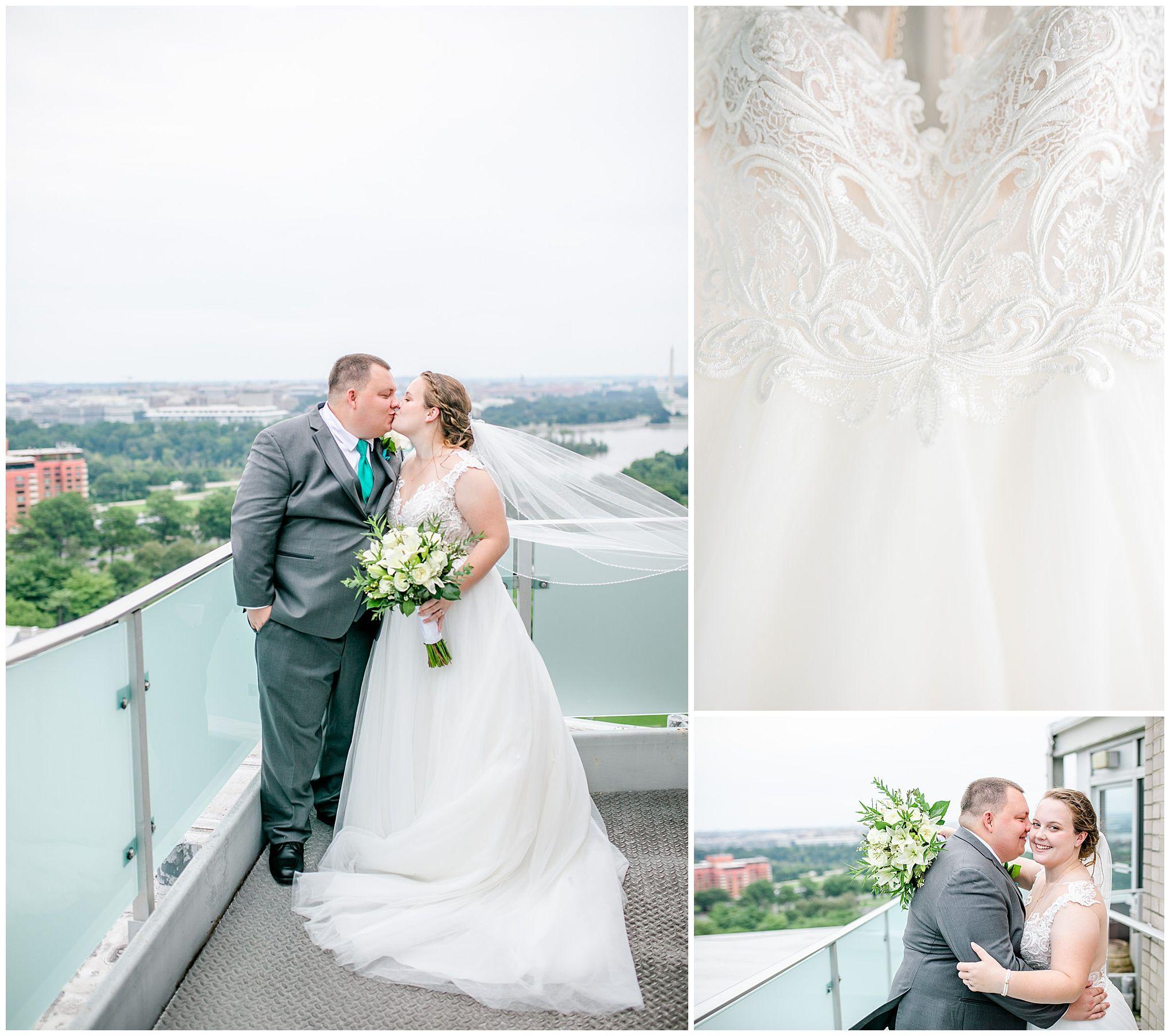 Top Of The Town Wedding In Arlington Virginia Rachel E H Photography In 2020 Dc Wedding Photography Sincerity Bridal Wedding Dresses Virginia Wedding Photographer