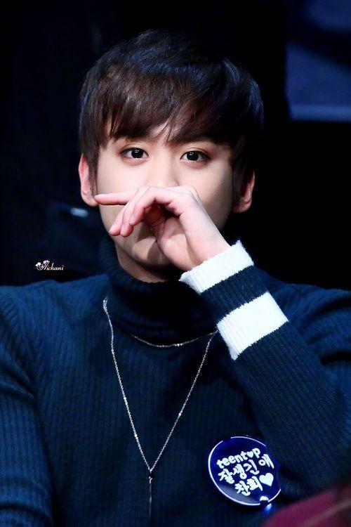TEEN TOP (틴탑)   ChunJi (천지) - Lee ChanHee (이찬희)   L.Joe (엘조)   Ricky (리키)   C.A.P   Niel (니엘)   ChangJo (창조)♥