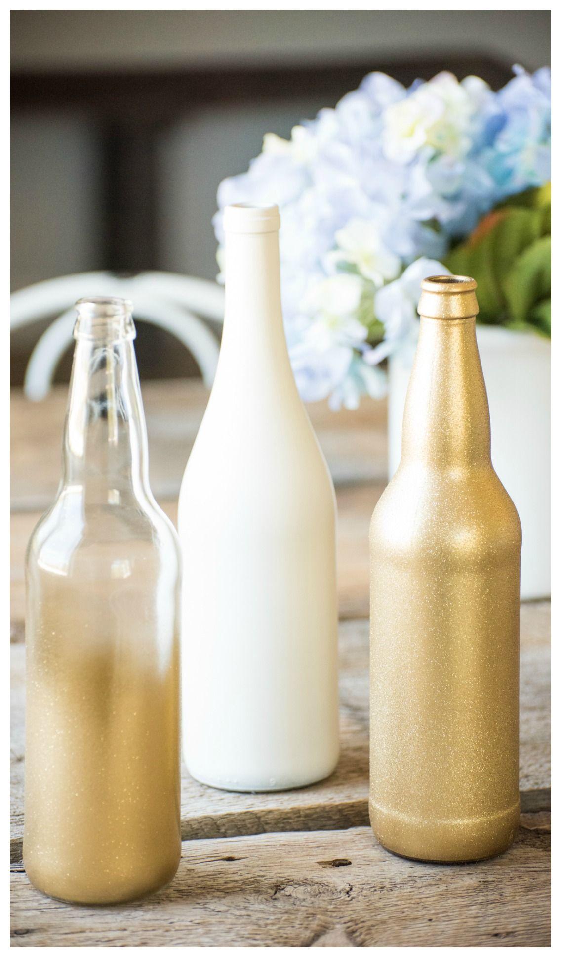 Attractive Wine Bottle Wedding Centerpieces Photo - The Wedding ...