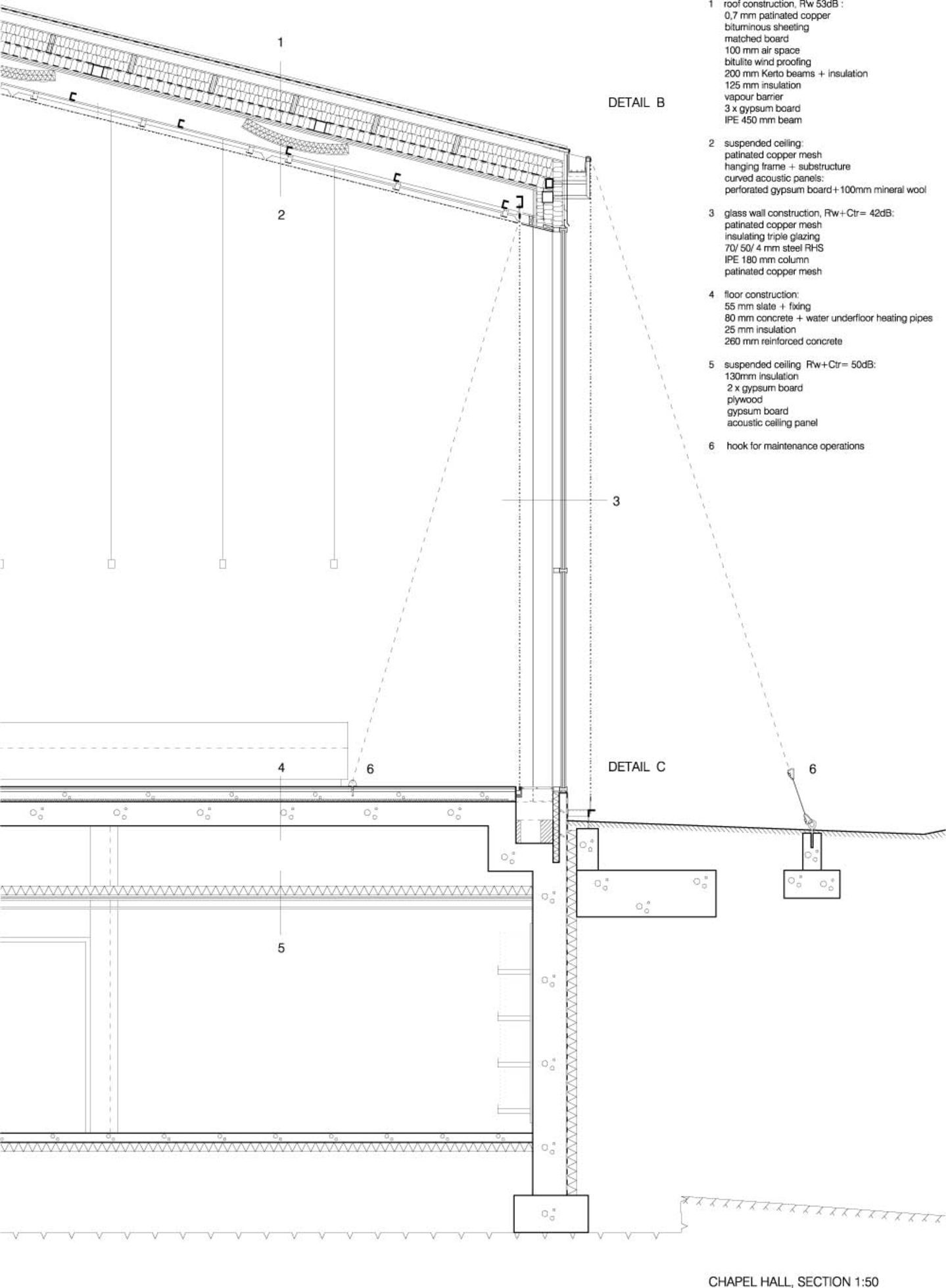 Avanto Architects Kuvio Com Tuomas Uusheimo Chapel Of St Lawrence Vantaa Finland Architectural Section Diagram Architecture Architecture Presentation