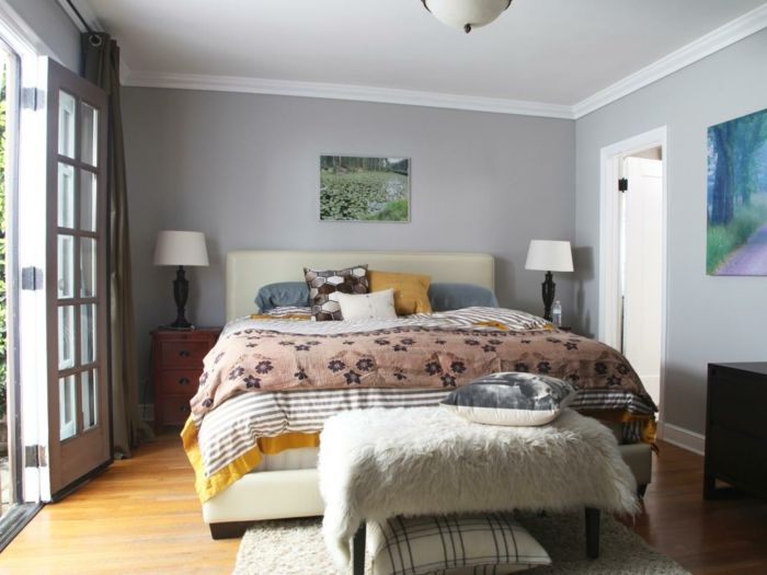 Over 60 clever ideas on how to make your bedroom gray ...